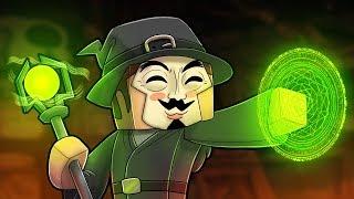 Minecraft - ULTIMATE WIZARD WARS! (NOOB vs PRO vs HACKER)