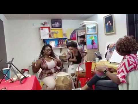 African Drum Circle at Labundu