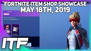 Fortnite Item Shop *NEW* VERSA AND ETHER SKIN SET! [May 18th, 2019] (Fortnite Battle Royale)