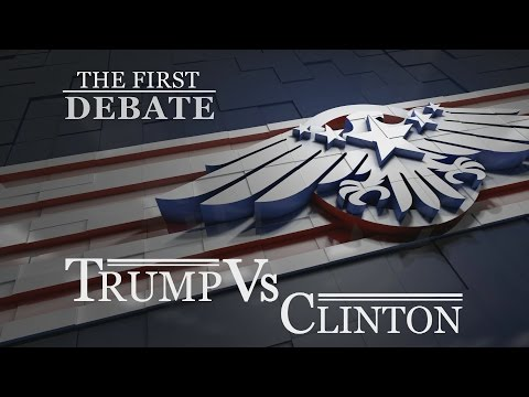 Who won the first US presidential debate?