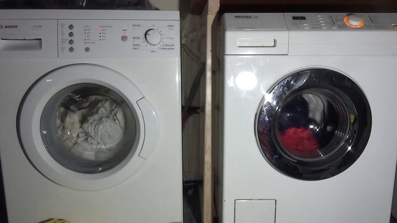 bosch vs miele washing machine