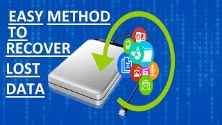 EASY METHOD TO RECOVER DELETED DATA FILES