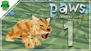 Прохождение Paws. A Shelter 2 Game - 1- Мама, не бросай меня
