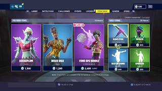 Fortnite Item Shop *NEW* DISCO DIVA SKIN! (December 30th / 31 st, 2018) [Fortnite Battle Royal]