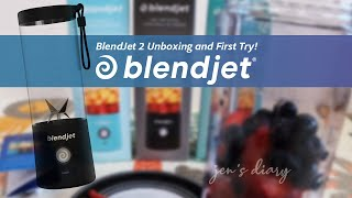 BlendJet 2 Portable Blender Unboxing & First Try