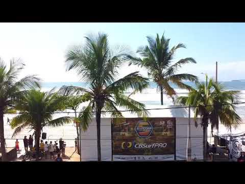 Começou o CBSurf Pro Tour em Ubatuba