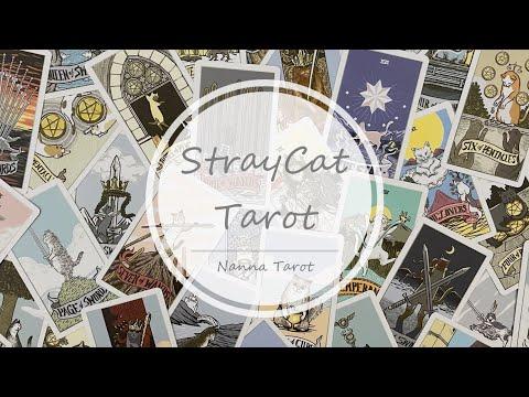 開箱  流浪貓咪塔羅牌 • StrayCat Tarot // Nanna Tarot