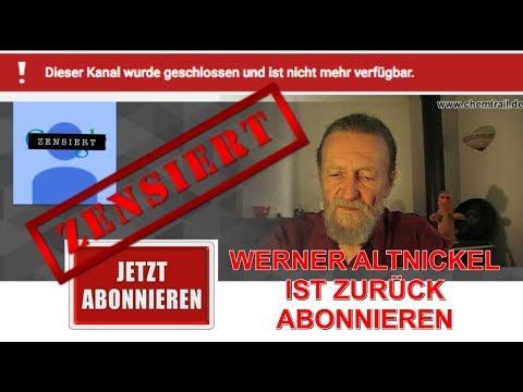 Werner Altnickel ist zurück - Kanalsperrung: Militärische+Wirtschaftsnachrichten + FAZ Hetze