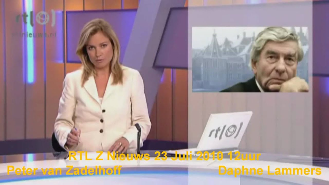 RTL Z Nieuws week 29 presentatoren - YouTube