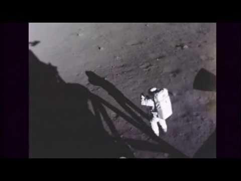 Apollo 11 Moon Walk Neil Armstrong 3 of 5 Buzz Aldrin Video
