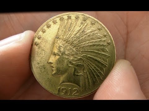 1912 $10 Indian Gold Eagle Pickup