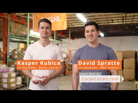 Carpe: The Complete Sweaty Hands Solution - YouTube