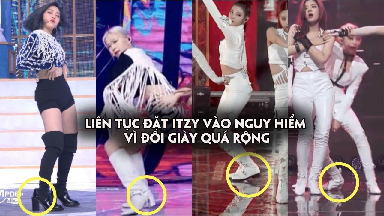 Fan tức giận vì stylist liên tục đặt ITZY vào nguy hiểm vì đôi giày quá rộng