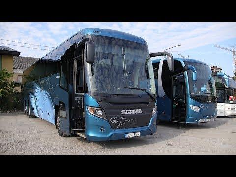 Bus route Tallinn - Tartu timelapse