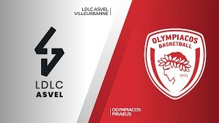LDLC ASVEL Villeurbanne - Olympiacos Piraeus Highlights | Turkish Airlines EuroLeague, RS Round 1