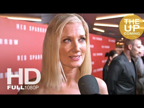 Joely Richardson interview at Red Sparrow premiere in London