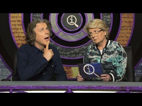 QI - Sandi Toksvig corrects Alan Davies just like Stephen Fry would