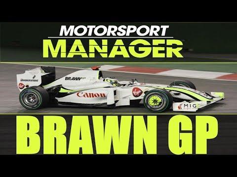 🏎️ Helytállás a királykategóriában | Brawn GP | MOTORSPORT MANAGER | Kilencedik szezon #23