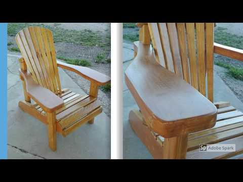 Adirondack Chair Sedie Da Giardino.Adirondack Chair Sedia Da Giardino Youtube
