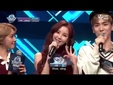 [VIETSUB] 170119 Seohyun @ Mnet M!Countdown - Interview