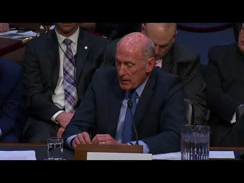 'Highly likely' Russia will seek to influence 2018 US vote: Dan Coats