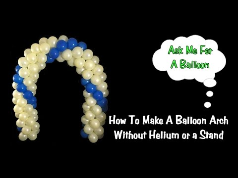 Balloon Arch No Helium & No Stand