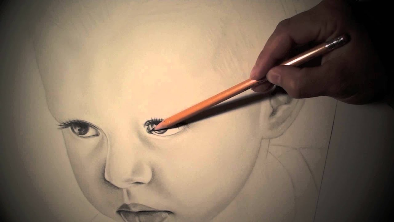 Child of God Pencil Drawing  YouTube