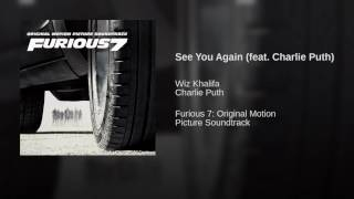 Wiz Khalifa ft Charlie Puth-See you Again[Official audio]