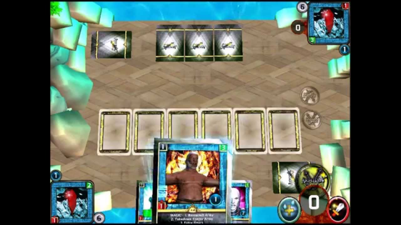 Armies of Riddle Mobile Card TCG CCG Game Made With Unity 3D - YouTube