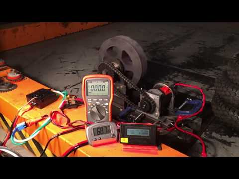 Polar Vortex: MagMotor Test 3, 36 Volts, Victor Limited To 300 Amps