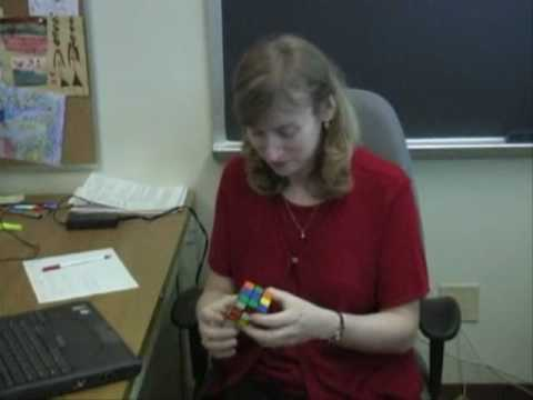 jessica fridrich 4 solves and comentaries