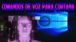 Windows 10 - Comandos Cortana