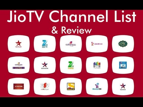 Jio TV Channel List | JioTV App Review and TV Channel Recording with Live TV