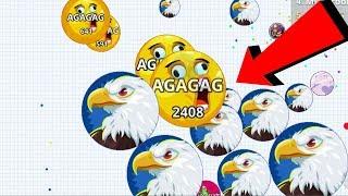 Agar.io Solo BOSS vs Clan War Epic Wins/Fails Best Moments Agario Mobile Gameplay