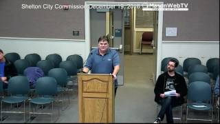 Shelton City Commission December 19, 2016