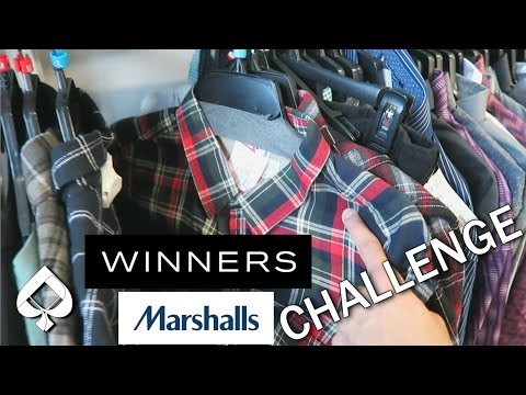 $100 OUTFIT CHALLENGE At Winners! (Marshalls)