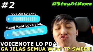 Download lagu DIMINTA CERITA PAS ISOLASI! MALAH DIBILANG I LOVE YOU!! HAHAHA! SUARA LO SEMUA PAS ISOLASI NI! #2