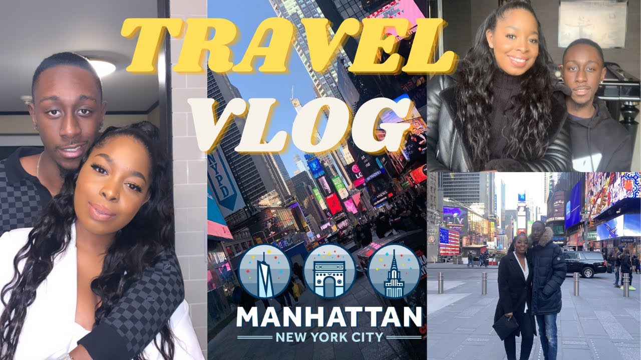 Couple Travel Vlog 2021 | New York and Amsterdam! | Baecation... BORIS NEEDS TO OPEN THE BORDER!! 😂😂