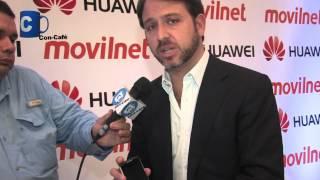Juan Gaspar Movilnet nos habla del nuevo Huawei Evolucion II CM980 a #ConCafeTVhd