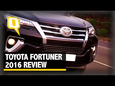 The Quint: Toyota Fortuner 2016 Review: The All Muscle SUV With a Style
