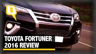 The Quint: Toyota Fortuner 2016 Review: The All Muscle SUV With a Style thumbnail