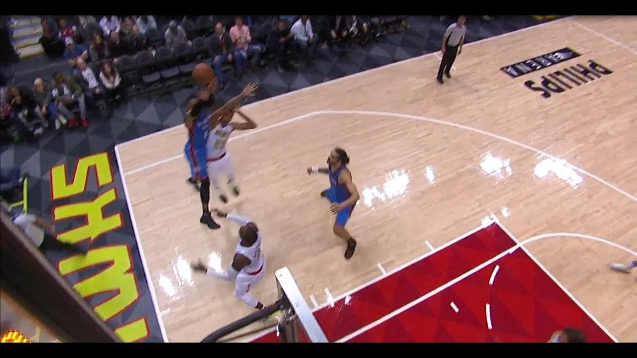 Russell Westbrook's Sixth Straight Triple Double in Atlanta  12.05.16