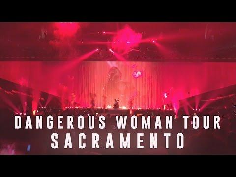 ARIANA GRANDE DANGEROUS WOMAN TOUR SACRAMENTO