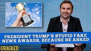 President Trump's Stupid Fake News Awards, Because He Asked  - Some News thumbnail