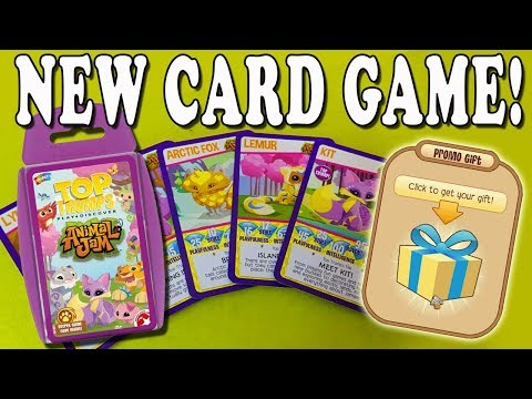 Animal Jam Top Trumps  New Card Game &  Code!