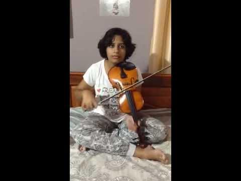 Gopike nin viral...Violin cover by Veda mithra
