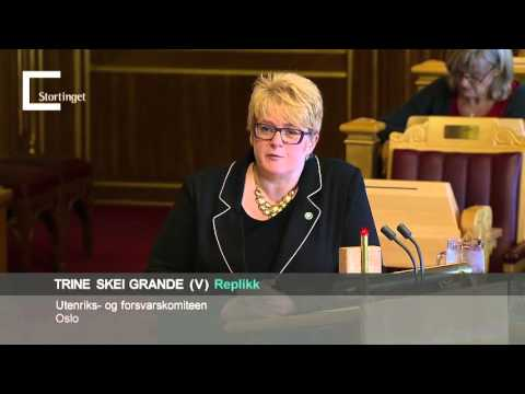 Venstres innlegg i trontaledebatten 2015