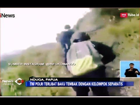 MENCEKAM! Baku Tembak TNI-Polri saat Serang Kelompok Separatis di Nduga, Papua - iNews Siang 08/12
