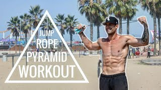 Jump Rope Pyramid Workout | Zen Dude Fitness