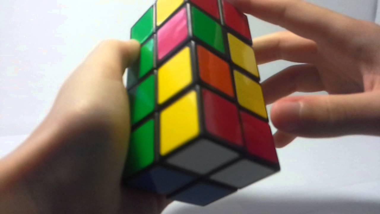 схема сборки башни рубика 2х2х4